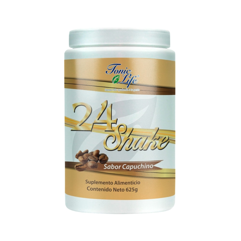 24 Shake 625 gr sabor Capuchino