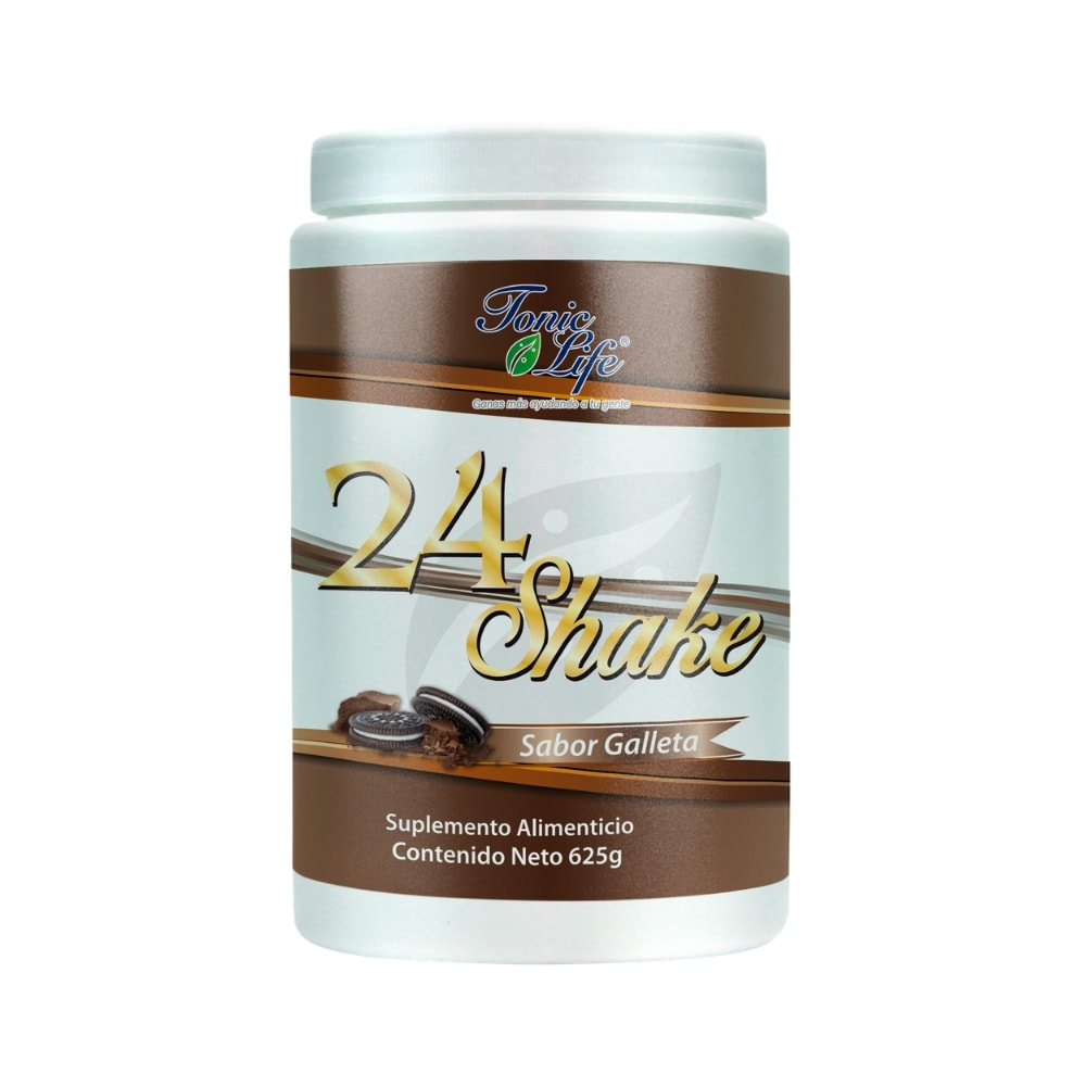 24 Shake 625 gr sabor Galleta