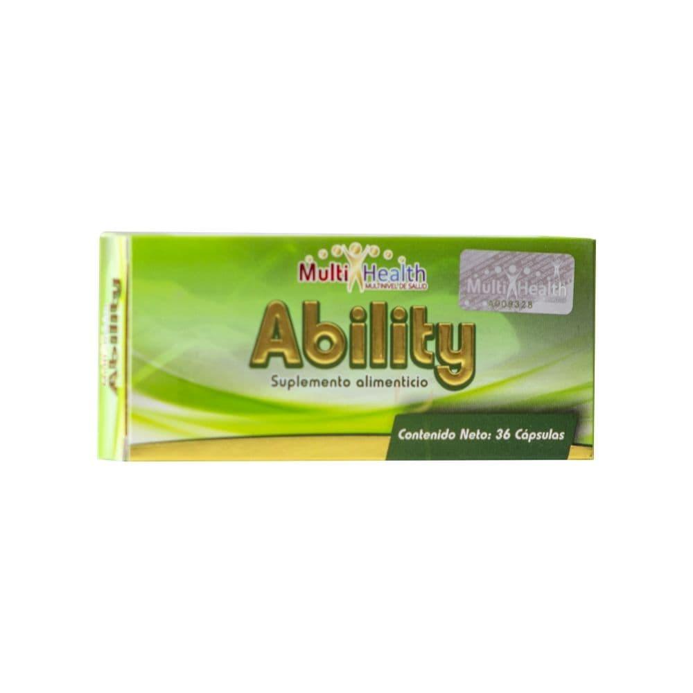 Ability 36 Caps