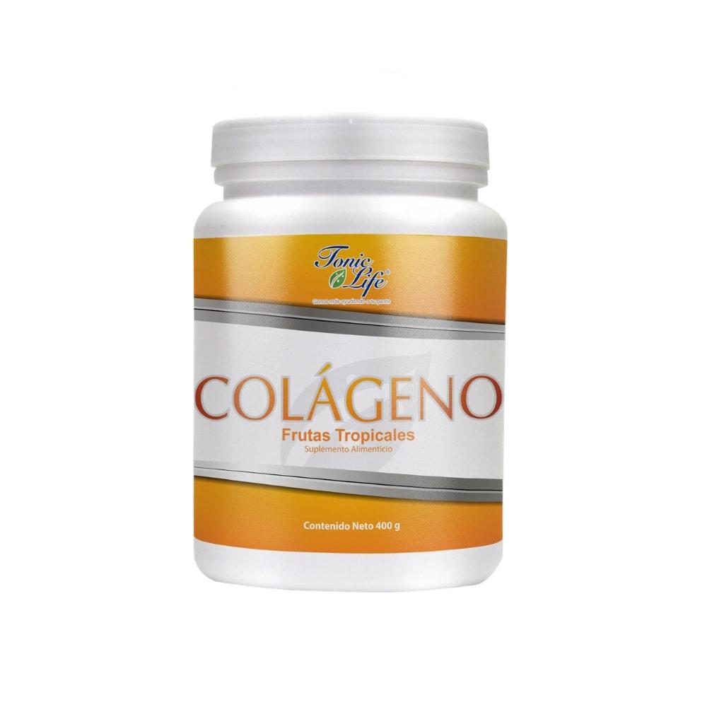 Colágeno Hidrolizado Malteada 500g sabor Frutas Tropicales