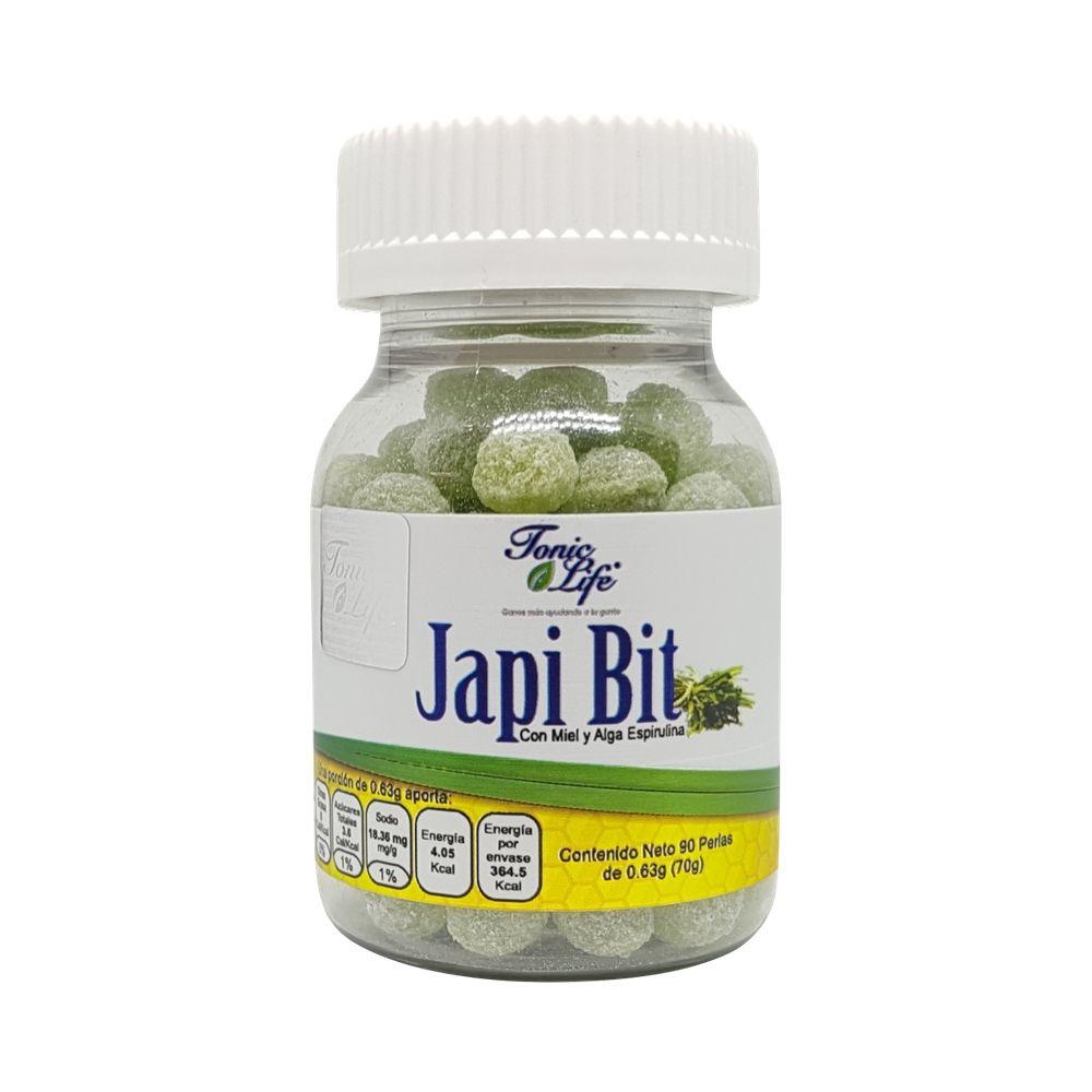 Japi Bit 90 perlas Miel con Alga Espirulina