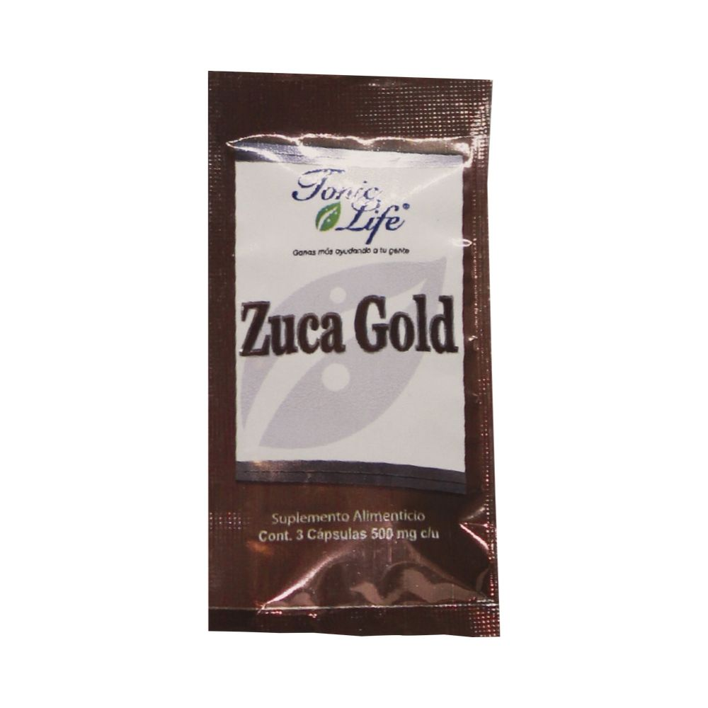 Zuca Gold Sobre 3 caps