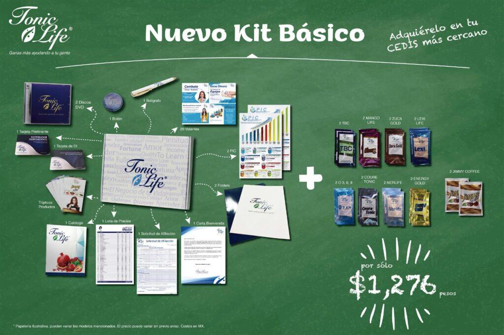 kit basico para negocio