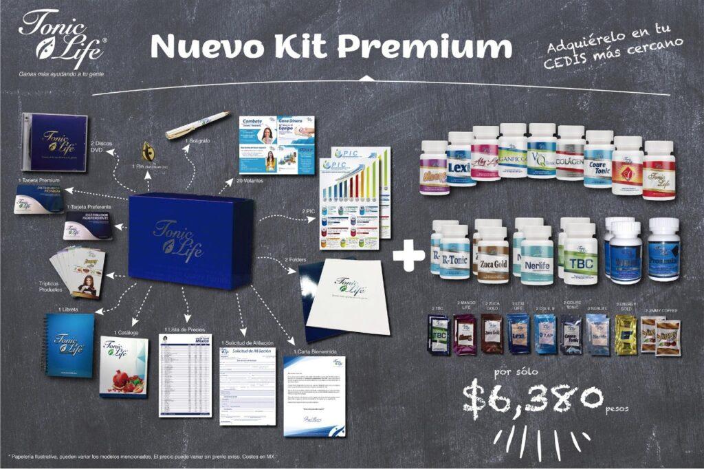 kit premiun - negocio tonic life